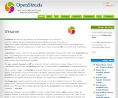 OpenStructs: Open source data structs and semantic frameworks