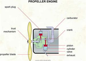 Propeller engine  (Visual Dictionary)