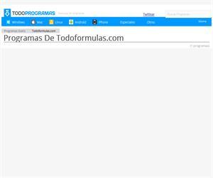 todoformulas.com: tablas de quimica, ortografía y aprendizaje (todoprogramas.com)