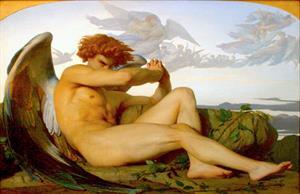 El ángel caido de Alexandre Cabanel