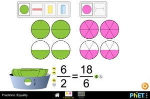Fractions: Equality