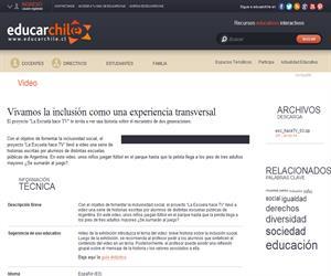 Argentina. Hace TV 3 (Educarchile)