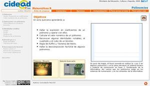 Polinomios 4º ESO (cidead)