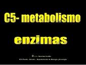 Metabolismo. Enzimas (BIOGEO-OV)
