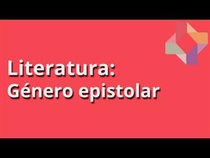 Género epistolar