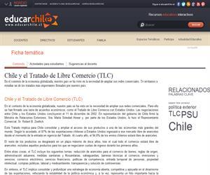 Chile y el Tratado de Libre Comercio (TLC) (Educarchile)