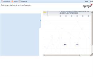 Posiciones relativas de la circunferencia  (Proyecto Agrega)