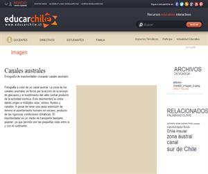 Canales australes (Educarchile)
