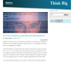 La web semántica, ¿Una Internet más humana?