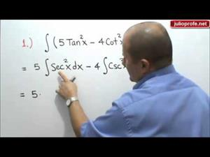 Integrales trigonométricas (JulioProfe)