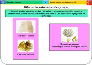 Minerales y rocas (SM)