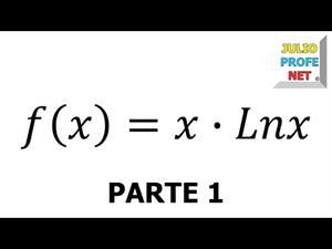 Aplicación de la Derivada al trazado de curvas. Parte 1 de 2 (JulioProfe)