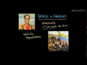 Venezuela: Junio. Batalla Carabobo. Día del Ejército