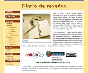 Diario de reseñas