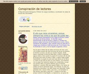 Conspiración de lectores:  el blog de Evaristo Romaguera