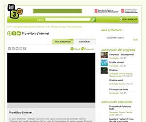 Enciclopèdia audiovisual de les Ciències i de les Tècniques (In situ). Telecomunicacions. Proveïdors dinternet