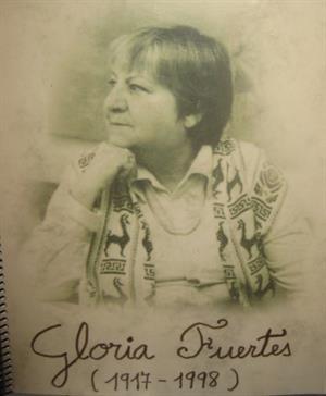 Recursos educativos sobre Gloria Fuertes, la angélica y alta voz poética