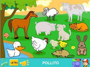 La granja. Juegos para Infantil (pipoclub.com)