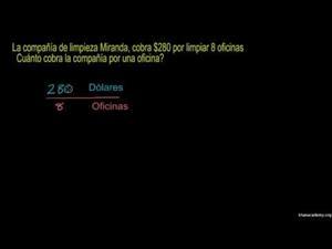 Encontrar unidad de precios (Khan Academy Español)