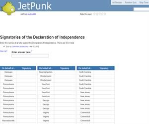 Signatories of the Declaration of Independence