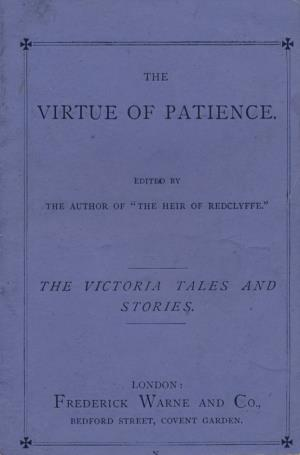 Virtue of patience (International Children's Digital Library)