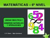 Números naturales y operaciones por Mª Edita Sueiras