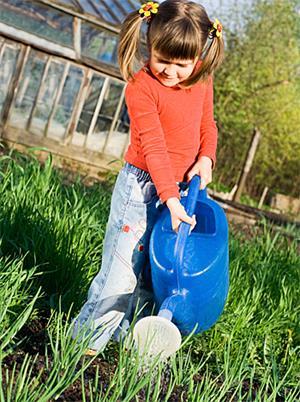 Manualidades para niños: Un huerto casero