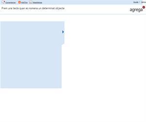 Prem una tecla quan es nomena un determinat objecte  (Proyecto Agrega)