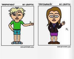 Ortografía Fácil: Normas de ortografía en cómic