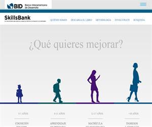 Skills Bank: Educación basada en la evidencia (Banco Interamericano de Desarrollo)
