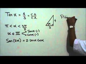 Valor exacto del seno de un ángulo doble (JulioProfe)