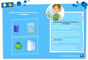 Medida de volumen. Física y Química para 3º ciclo de Primaria