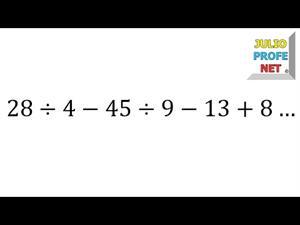 Polinomio aritmético sin signos de agrupación (JulioProfe)