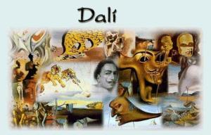 Salvador Dalí, actividades interactivas Jclic