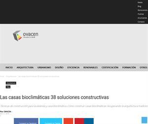 Arquitectura tradicional y construcción bioclimática