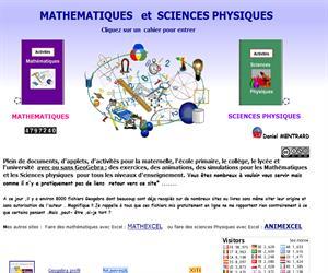 MATHEMATIQUES   et  SCIENCES PHYSIQUES de Daniel Mertrand