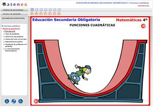 Funciones cuadráticas. Matemáticas 4º Secundaria