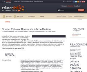 Grandes Chilenos. Documental Alberto Hurtado (Educarchile)