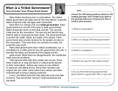 What is a Tribal Government?