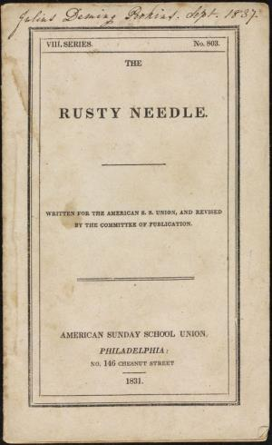 The rusty needle (International Children's Digital Library)