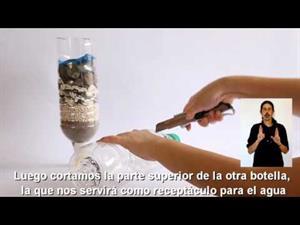 Experimentos Caseros de Ciencias Naturales: Filtro Casero para el Agua