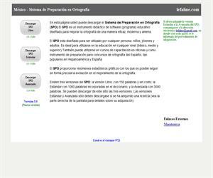 Sistema de preparación de la ortografía (software educativo)
