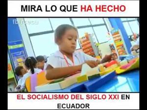 Educación del Ecuador. Antes y después.