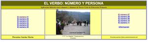 El verbo: número y persona