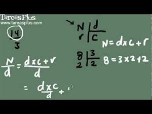 Convertir números mixtos a fracciones y fracciones a mixtos (Tareas Plus)