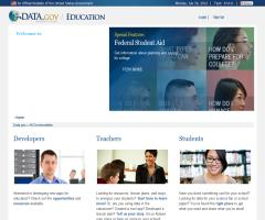 Education Data Community - DataGov Education (Gobierno de Estados Unidos)