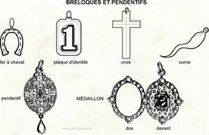 Breloques et pendentifs (Dictionnaire Visuel)