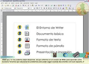 Edición básica de textos con OpenOffice Writer