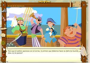 Los piratas de la ortografía: mayúscula y minúscula