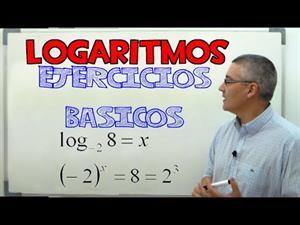 Logaritmos, ejercicios básicos. Aprende matemáticas.